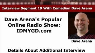Comedian Dave Arena's Online Radio Show