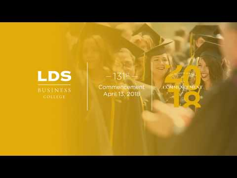 131st Commencement at LDS Business College