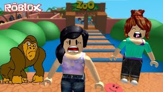 Roblox - ESCAPE DO ZOOLÓGICO (Escape the Zoo Obby) | Luluca Games