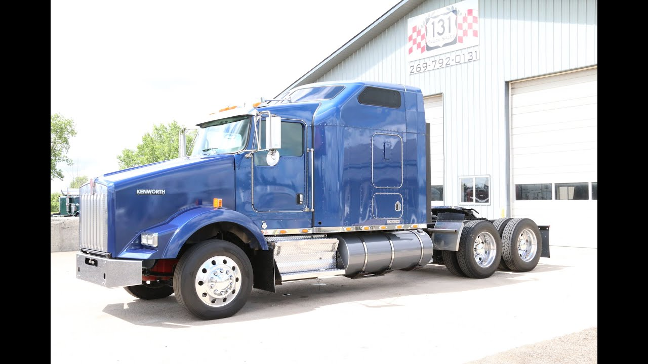 2009 kenworth t800 131 truck sales youtube. Black Bedroom Furniture Sets. Home Design Ideas