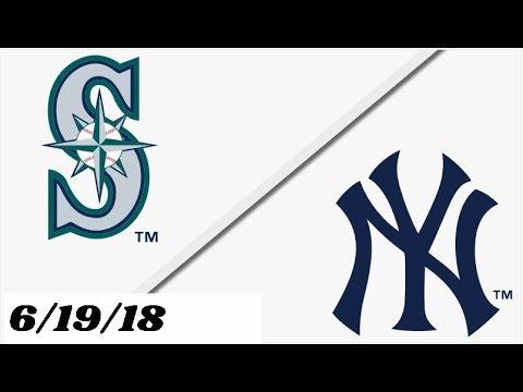 Seattle Mariners vs New York Yankees | Full Game Highlights | 6/19/18