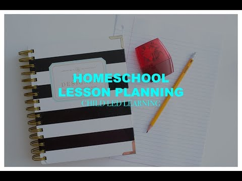 Homeschool Planning - Child Led Learning