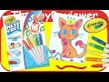 Crayola Color Wonder Mess Free Paintbrush Pens Markers Paint Unboxing Toy Review by TheToyReviewer