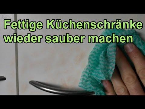 Fett von Küchenschränken entfernen – DIY Fettlöser selber machen ...