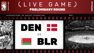 Denmark - Belarus | Live | Group a | 2021 IIHF Ice Hockey World Championship