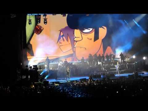 Gorillaz 19-2000 Humanz Live (TOUR DEBUT) Toronto 2017