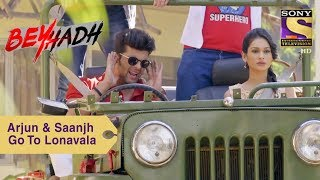 Your Favorite Character   Arjun & Saanjh Drive To Lonavala   Beyhadh