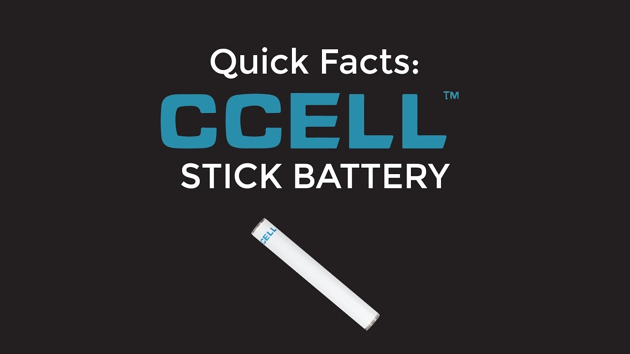 Quick Facts: CCELL Stick Battery