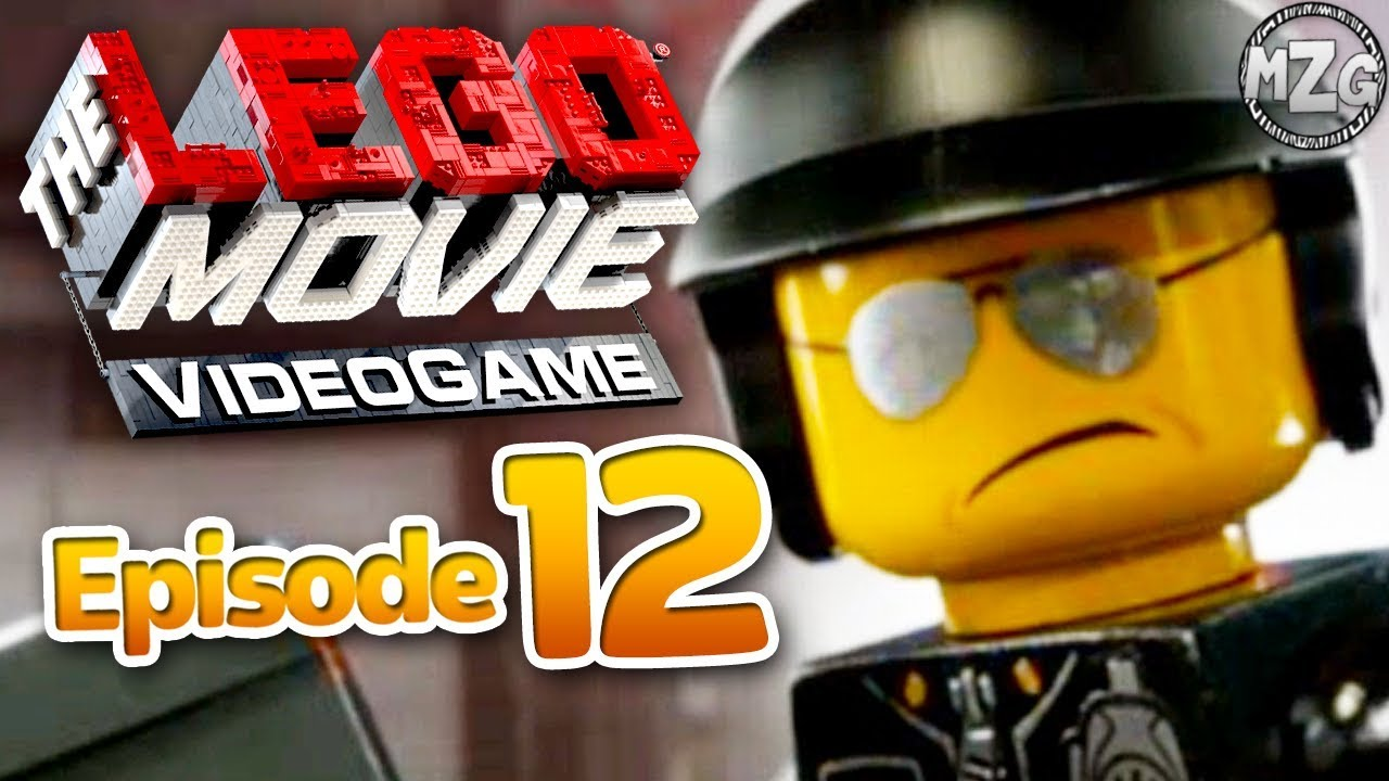 LEGO Movie Videogame Gameplay Walkthrough - Episode 12 - Bad Cop! Broadcast News!