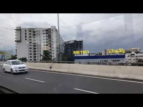Bangalore Electronic City Fly Over |India's longest elevated national highway Flyover
