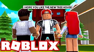 BUILDING A TREE HOUSE! - ROBLOX