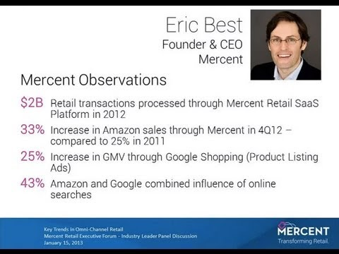 Key Trends in Omni-Channel Retail for 2013