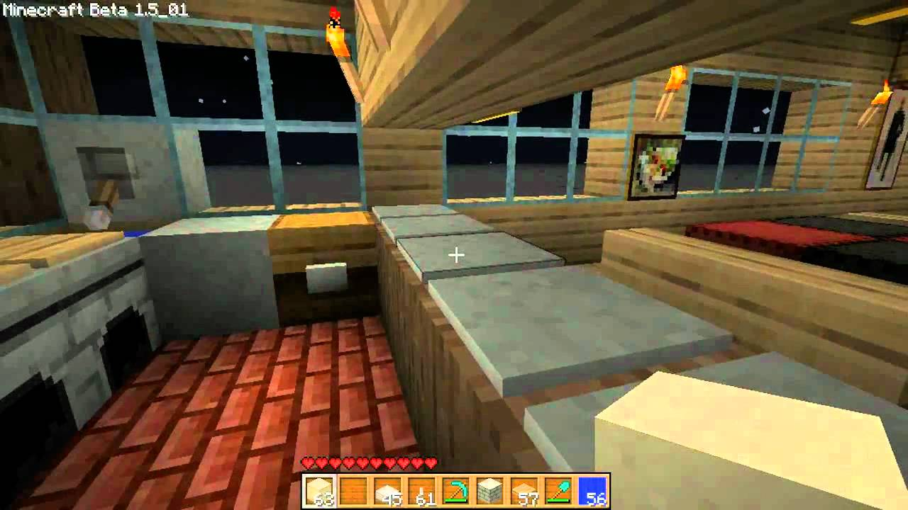Un restaurant dans minecraft   youtube