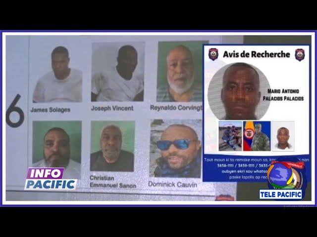 Rony Grégoire, Clifton Hyppolite, 2 policiers,  et Dominique Cauvin, ont été arrêtés par la PNH
