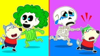 Wolfoo Plays at the Children's Museum of Spooky Skeletons | Wolfoo Family Kids Cartoon