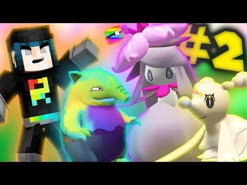 Minecraft Pixelmon - TEAM RAINBOW ROCKET ATTACKS! (Minecraft Pixelmon Ultra Quest) Episode 2