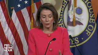 WATCH LIVE: House Speaker Nancy Pelosi may discuss Barr, Mueller report during weekly briefing