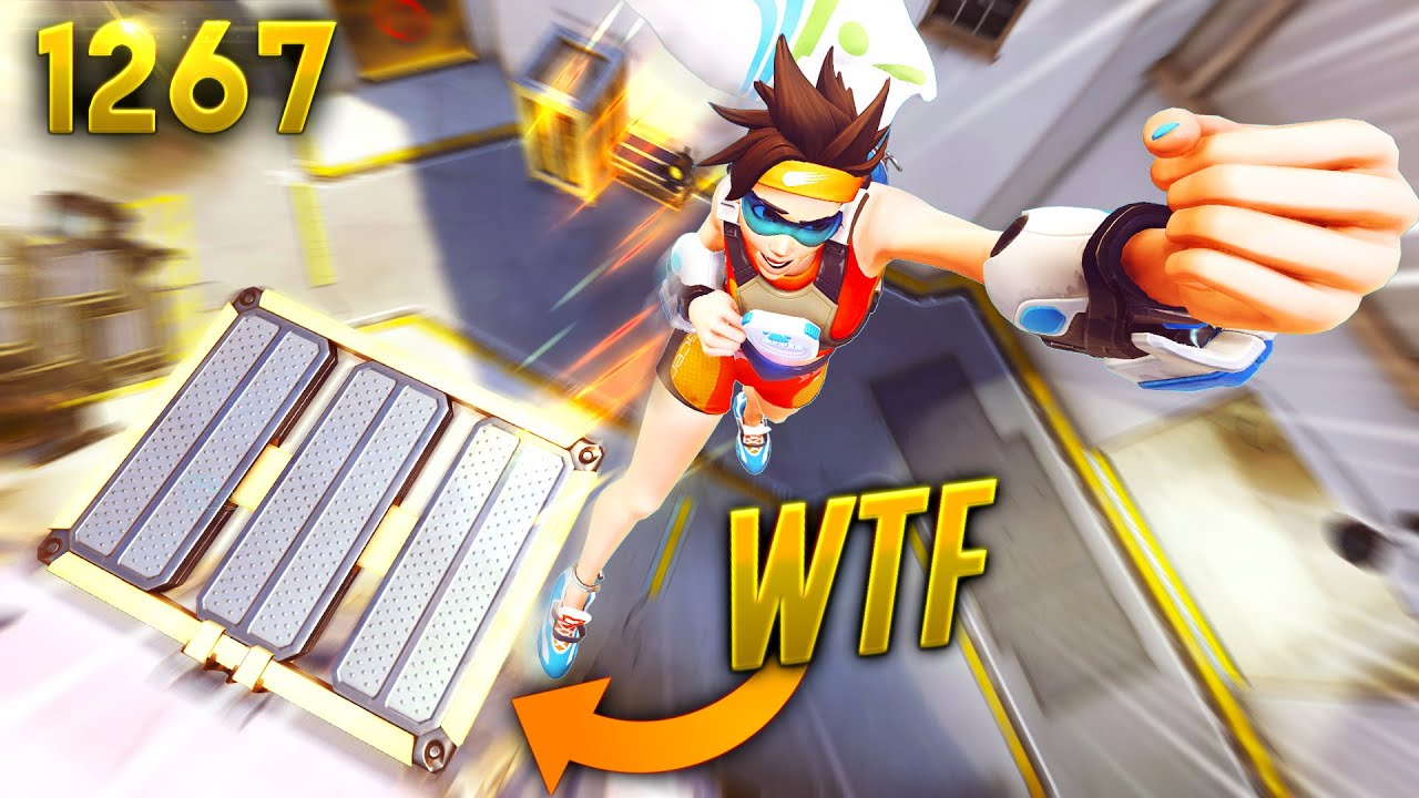*NEW* Elevator IS A CATAPULT!!   Overwatch Daily Moments Ep.1267 (Funny and Random Moments)