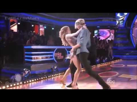 Riker Lynch and Allison Holker - Samba on #DWTS