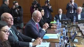 С.Лавров на трехсторонней встрече в Астанинском формате