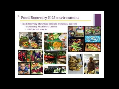 Bringing Fresh Donated Foods Into School Meals Programs