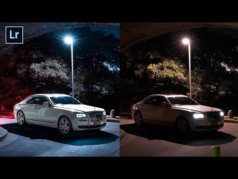 CAR NIGHT PHOTOGRAPHY (Photoshoot + Editing Tutorial)