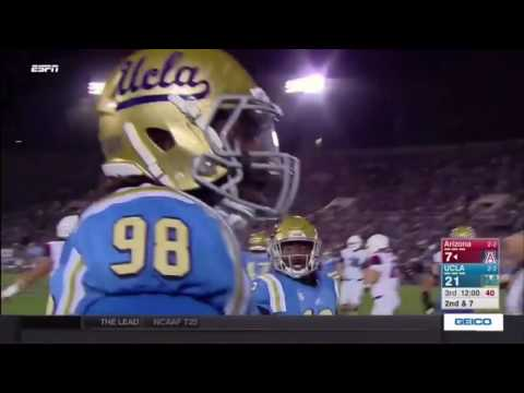 UCLA Football Highlights:  Arizona, 2016