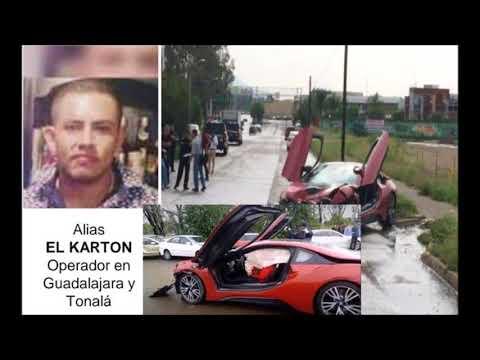 """""""El Karton"""" del CJNG """"limpiabá la plaza"""" para """"El Mencho"""" y fue ejecutado a bordo de un BMW i8"""