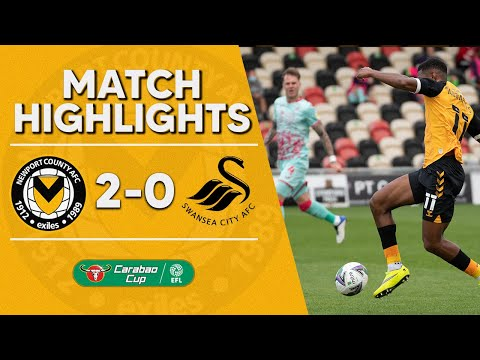Newport Swansea Goals And Highlights