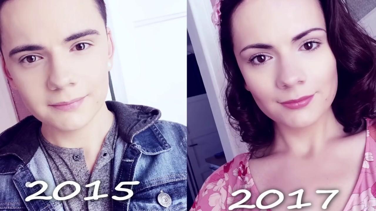 Male To Female - Transgender Transition Timeline - Youtube-1753