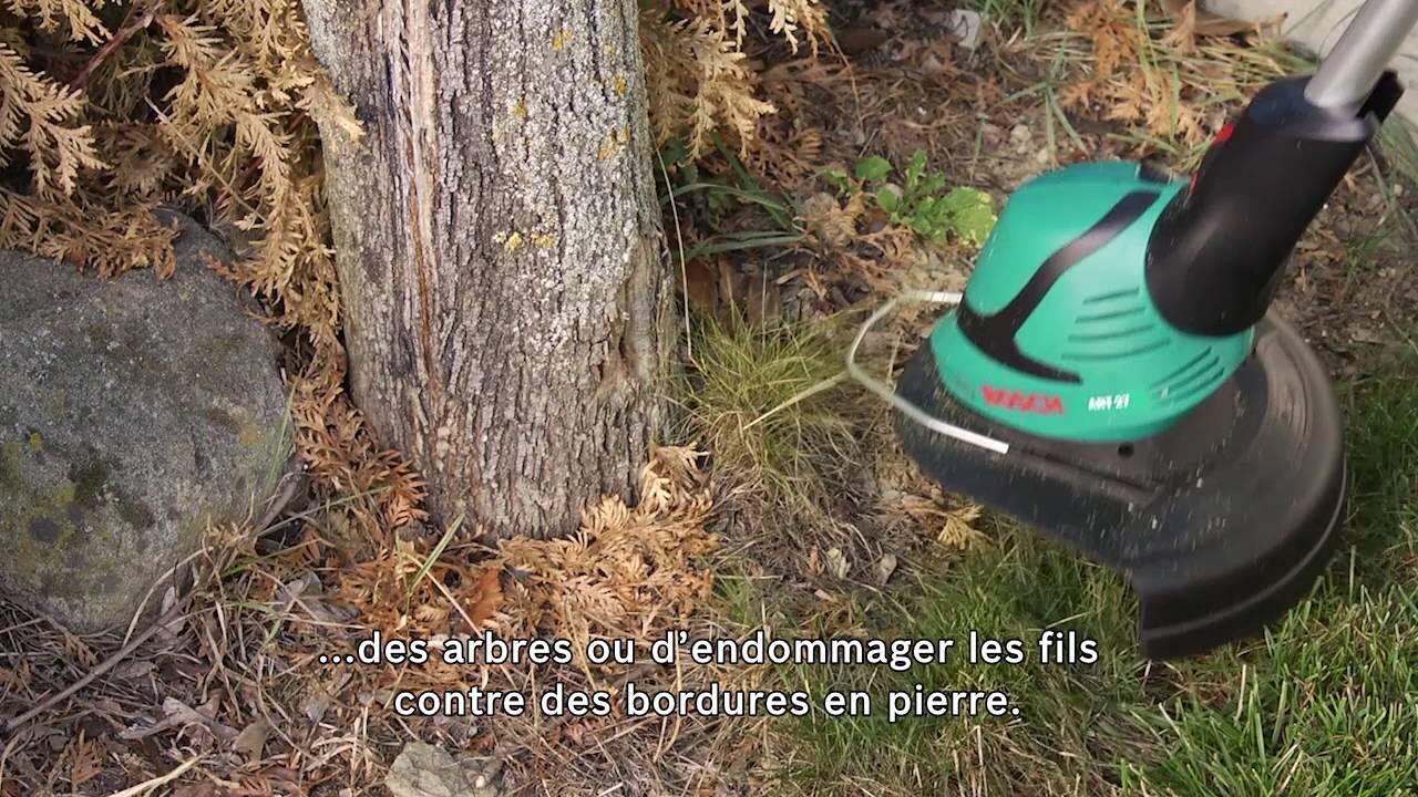 Coupe bordures bosch art 27 youtube - Coupe bordure bosch combitrim ...