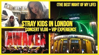 STRAY KIDS IN LONDON CONCERT VLOG + HITOUCH EXPERIENCE (I'M A MESS) | Lexie Marie