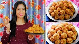 Perfect & Crispy মুৰীৰ লাৰু বনোৱা পদ্ধতি TIPS   How to make Puffed Rice Ladoo  MURIR LARU RECIPE