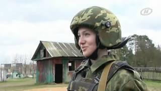 Александра Бурыкина - «Наше утро» на ОНТ - Один день в жизни спецназа