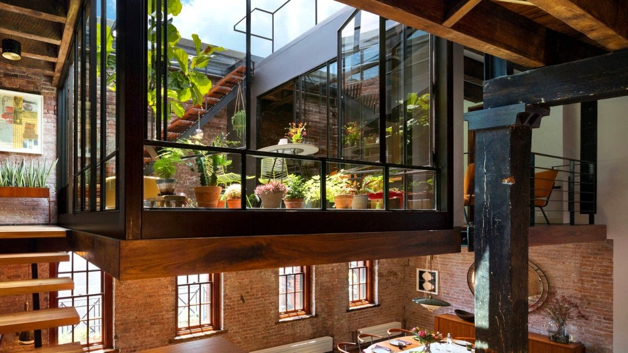 28 Incredible Lofts (New York Loft Apartment Design) - YouTube