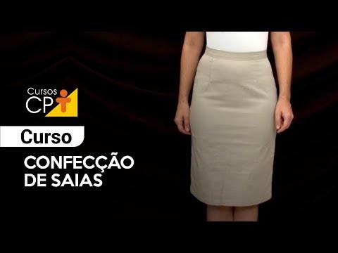Clique e veja o vídeo Curso Confecção de Saias