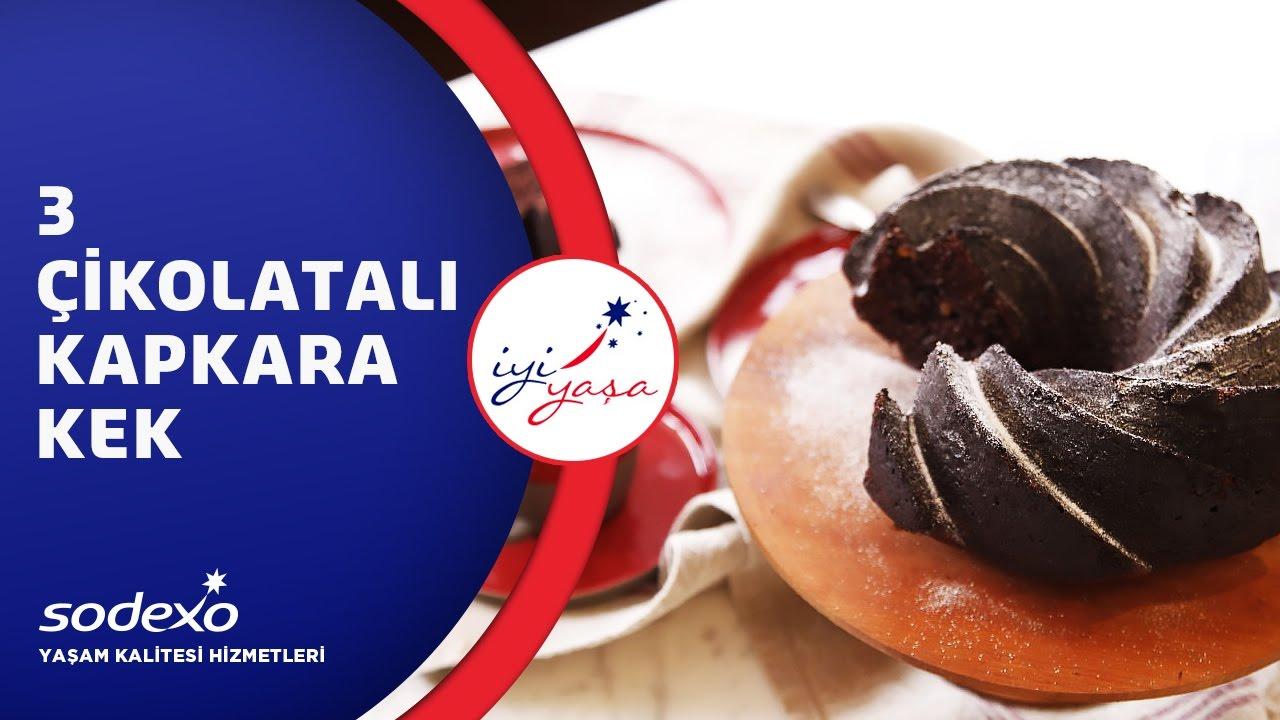 3 Çikolatalı Kapkara Kek Nasıl Yapılır? Şef Ece Zaim Anlatıyor!