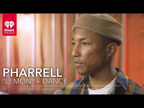"Pharrell Does The Dance From ""Lemon"" 