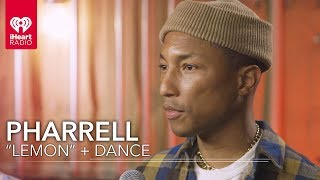 """Pharrell Does The Dance From """"Lemon"""" 