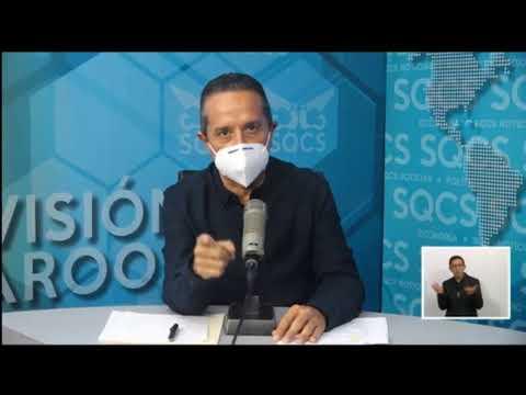 CARLOS JOAQUIN CONTIGO Gobernador del Estado de Quintana Roo nos dará información actualizada.