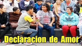 "El Mono Pavel "" Declaracion de Amor "" - Comicos Ambulantes [ Completo ] Chabuca Granda"