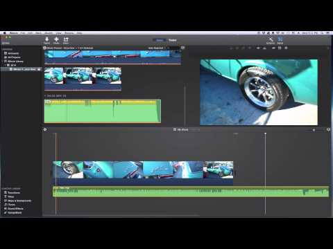 iMovie Tutorial - Adding Audio | iMovie How To 2015
