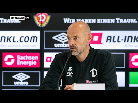 1. Spieltag | SGD - FCI | Pressekonferenz vor dem Spiel