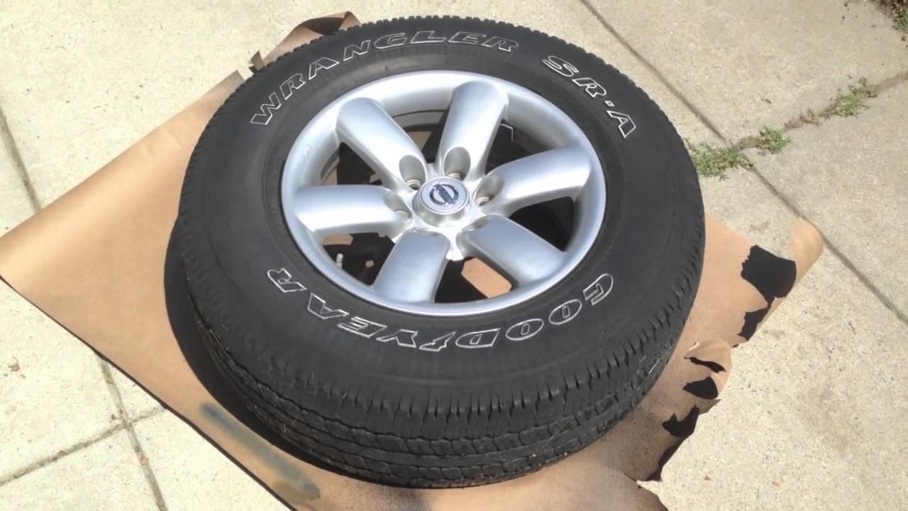 HOW TO Plasti Dip Your Wheels (Nissan Titan) - YouTube