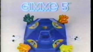 Gimme 5 game classic tv commercial 1981