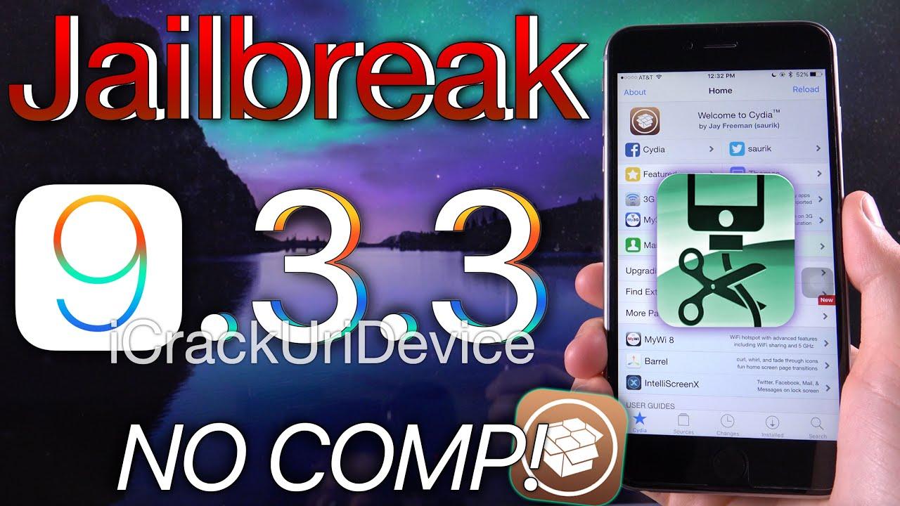 Jailbreak iOS 9.3.3 - NO Computer \u0026 Cydia! - YouTube