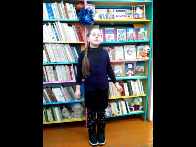 Изображение предпросмотра прочтения – ЕкатеринаСорокина читает отрывок изпроизведения «Евгений Онегин» А.С.Пушкина