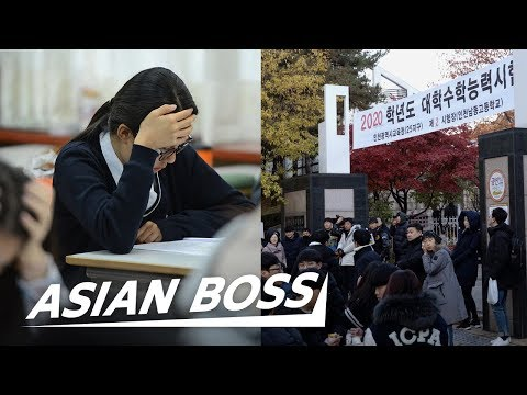 Suneung: The Most Important Exam For Korean High Schoolers | ASIAN BOSS