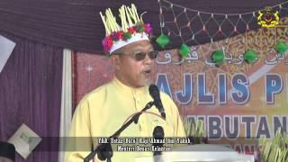 YAB Ustaz Dato' Menteri Besar ][Pelancaran Jubli Perak Menbangun bersama Islam Zon Selatan