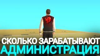 СКОЛЬКО ЗАРАБАТЫВАЮТ АДМИНЫ БЛЕК РАШИ BLACK RUSSIA